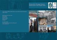 Pontmorlais Heritage Quarter Maintenance and Design Guide