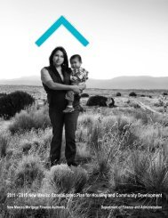 2011 – 2015 new mexico consolidated plan for housing and ...