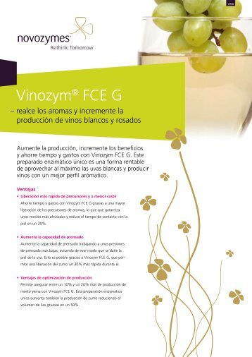 Vinozym® FCE G - VINICAS