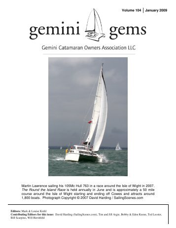 Issue #104, January 2009 - Gemini Gems