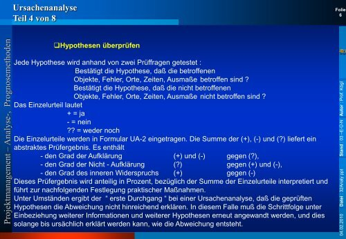 und Prognosemethoden - Rz.fh-augsburg.de