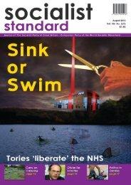 1 Socialist Standard August 2010 - World Socialist Movement