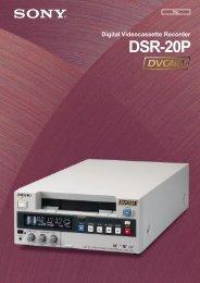 DSR-20P - Panavision New Zealand