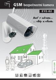 GSM bezpečnostní kamera - Jablocom