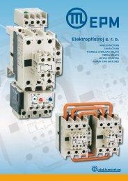 1. Contactors - EPM Elektropřístroj sro