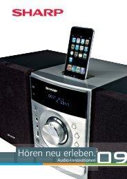 iPod neu erleben. - Sharp Electronics Europe GmbH