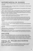 Importanti avvertenze per la salute relative all'utilizzo ... - Call of Duty - Page 6