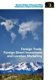 Foreign Trade, Foreign Direct Investment and Location Marketing