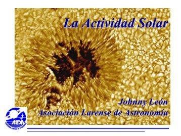 La Actividad Solar - Tayabeixo