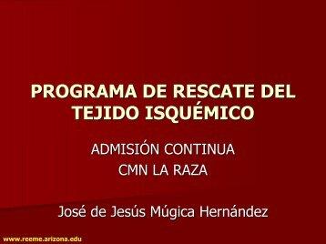 programa de rescate del tejido isquémico - Reeme.arizona.edu
