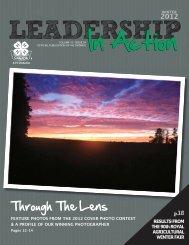 Leadership In Action Winter 2012 - 4-H Ontario