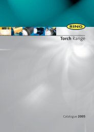 8pp torch catalogue - Ring Automotive