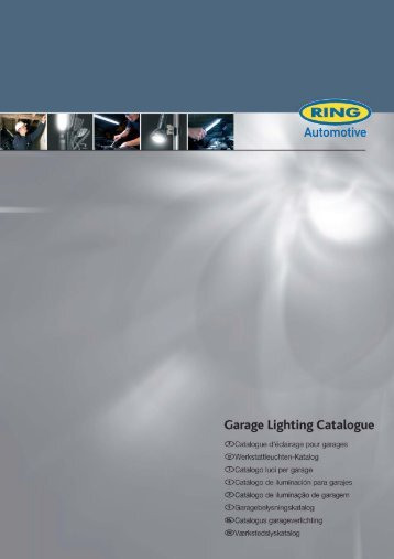 Garage Lighting Catalogue - Ring Automotive