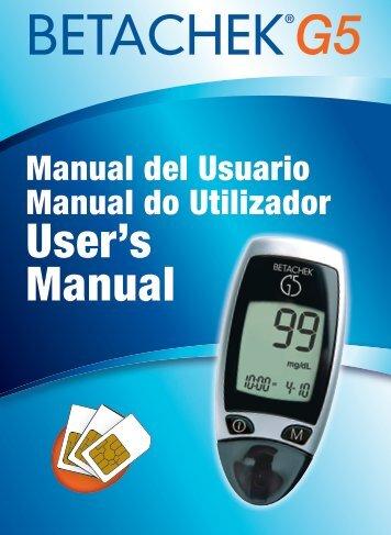 Manual del usuario -  National Diagnostic Products.