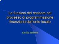 Davide Barberis - Ordine dei Dottori Commercialisti e degli Esperti ...