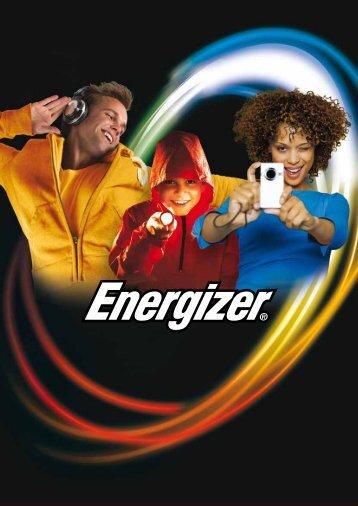 Energizer - Katalog 2010 - BATTERIEPOWER