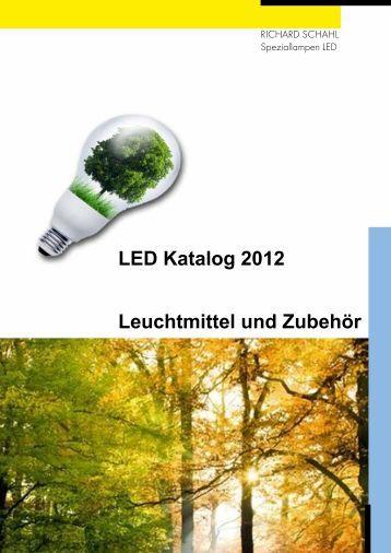 LED Katalog 2012 Leuchtmittel und Zubehör - Brill