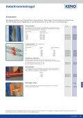 Datenblattdownload Kabeltrommelregale KENO - assistYourwork - Seite 2