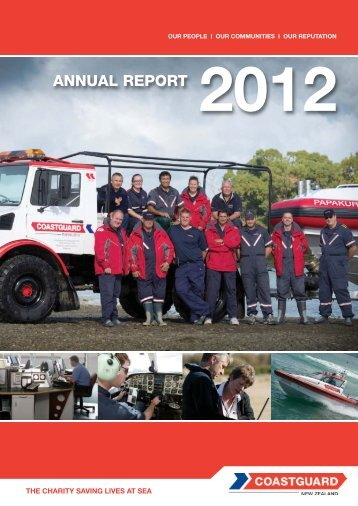 ANNUAL REPORT 2012 - Coastguard New Zealand