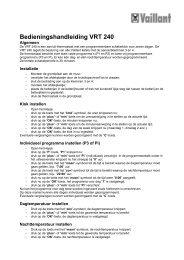Korte handleiding voor de VRT 240 - steennis.info