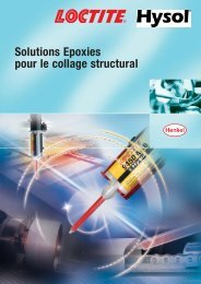 Solutions Epoxies pour le collage structural - Henkel