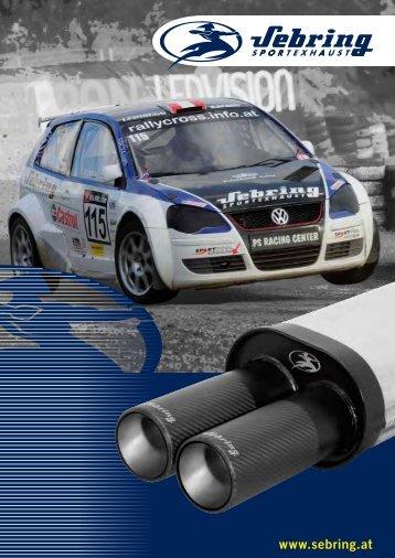 product catalog Car - Sebring Technology