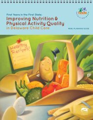 Improving Nutrition & Physical Activity Quality - Healthy Meals ...