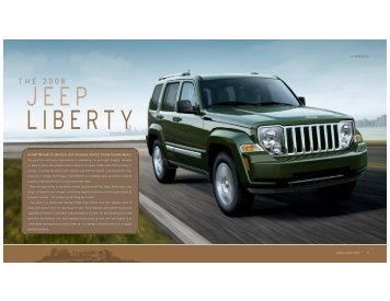 2008 Jeep Liberty - Chrysler Canada