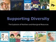 Supporting Diversity - NWT Literacy Council