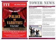 Tower News p1p4 020508 - Tower Theatre Folkestone