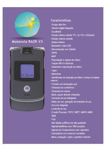 Motorola RAZR V3 - PSA Telecom