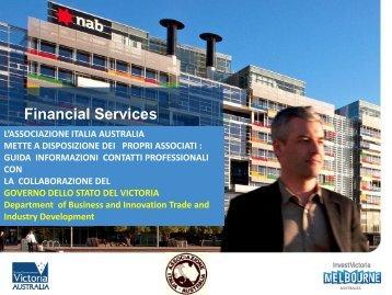 Why Melbourne for Financial Services? - Associazione Italia-Australia