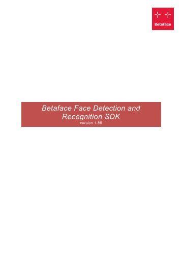 facial recognition sdk