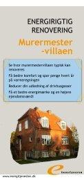 Murermester -villaen - Energitjenesten