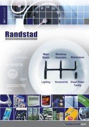 Lighting Accessories Workshop Essentials ... - Randstad Ltd