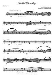 sostenuto - Clarinet Institute Home Page