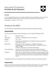 Merkblatt Schauen - Zuchtverband CH Sportpferde
