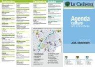 Agenda culturel juin à septembre 2013 [93 Ko] - Chêne-Bougeries