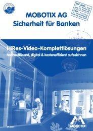 MOBOTIX AG Sicherheit für Banken X - IBC Raif GmbH