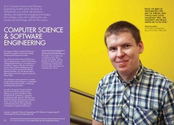 computer science & software engineering - University of Westminster