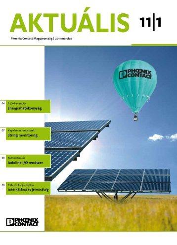 Aktuális magazin 2011/1 (PDF 0,87 MB) - PHOENIX CONTACT ...
