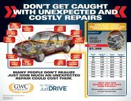 don't get caught with unexpected and costly repairs - eCarList