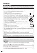 LC-42XL2E/S/46XL2E/S/52XL2E/S Operation-Manual DK - Sharp - Page 4