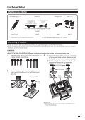 LC-42XL2E/S/46XL2E/S/52XL2E/S Operation-Manual DK - Sharp - Page 7