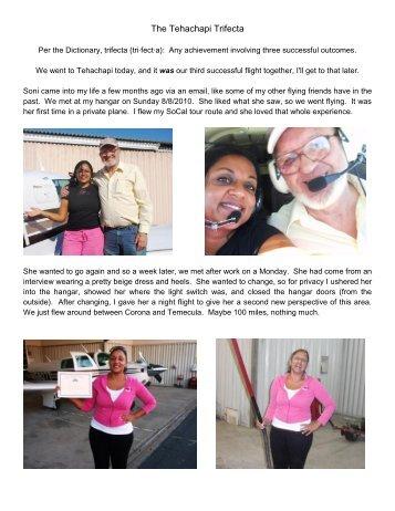 The Tehachapi Trifecta