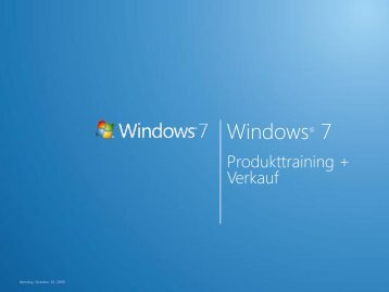 Windows 7 Presentation Template - Intel