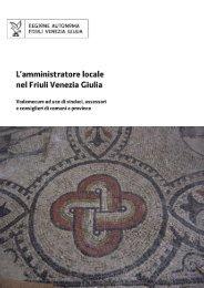 L'amministratore locale nel Friuli Venezia Giulia - Maggio 2009