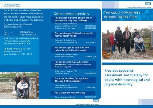 Other relevant services - Homerton University Hospital