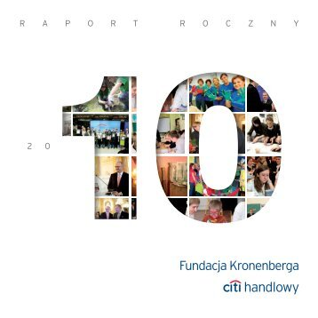 Raport Roczny Fundacji Kronenberga za rok 2010, plik PDF