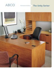 The Unity Series® - ABCO Office Furniture